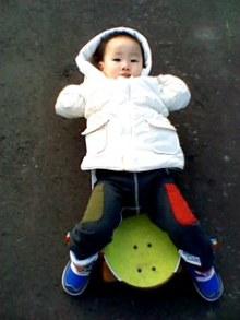 山田スイッチの『言い得て妙』 仕事と育児の荒波に、お母さんはもうどうやって原稿を書いてるのかわからなくなってきました。。。-110404_1629~001.jpg