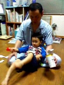 山田スイッチの『言い得て妙』 仕事と育児の荒波に、お母さんはもうどうやって原稿を書いてるのかわからなくなってきました。。。-110827_2041~001.jpg